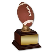 Football Trophy with Football