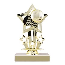 Star Baseball Trophy