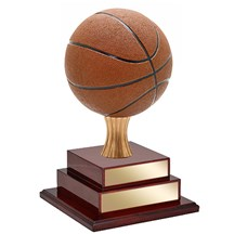 2 or 3 Tier Basketball Trophy - 2 Sizes