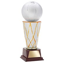 Ceramic Basketball Trophy