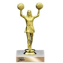 Basic Cheerleader Trophy