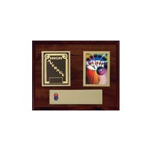 Deluxe Bowling Plaque