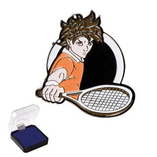 1 in Tennis Sports Pin
