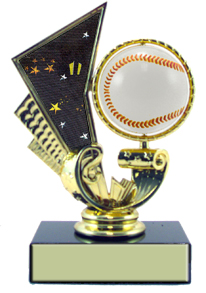 5-1/4 in Baseball Trophy Spinner