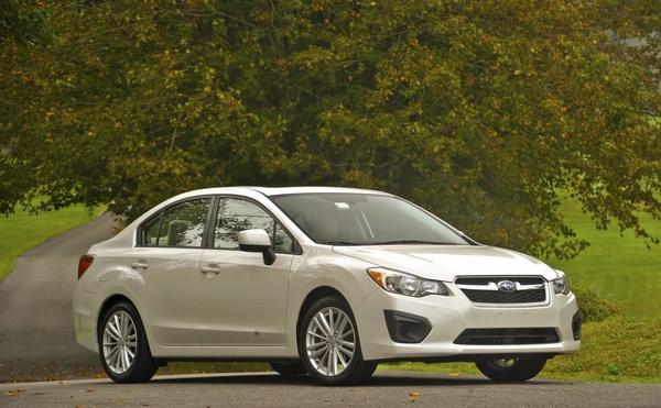 2012 Subaru Impreza New York