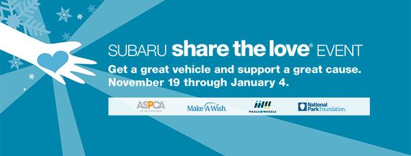 2020 Subaru Share the Love® Event
