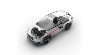 2019 Subaru Crosstrek Hybrid Powertrain
