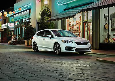 Subaru of America Announces Pricing on 2022 Impreza Models