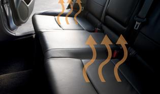 2019 Legacy Dual-mode Heated Rear Seats