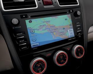 2016 Forester Touchscreen Navigation System