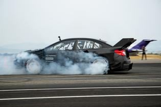 Travis Pastrana tested his new Gymkhana STI in a recent test in Montana, shredding plenty of tires and putting the final touches on the car's setup in advance of filming.