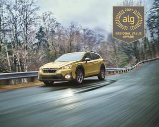 Best Sub-Compact Utility. According to ALG, the 2021 Subaru Crosstrek retains its value better than any other vehicle in its class. The Crosstrek has the highest residual value in its class for five years running.
