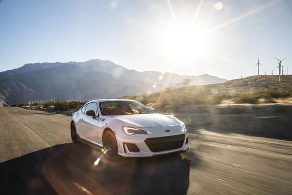 2018 Subaru BRZtS and STI Type RA