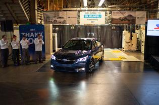 SOP 2020 Legacy and Outback- Subaru of Indiana Automotive