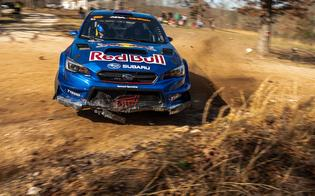 Semenuk was in the mix on Day 1, turning in competitive times on the same stages where he took his first U.S. win at 2020's Show-Me Rally.