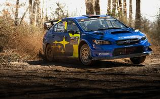 As the stages grew increasingly rough and rutted on Saturday afternoon, Pastrana focused on clean driving and avoiding damage to bring home the win.