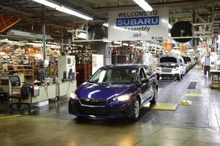 First American-Built Subaru Impreza
