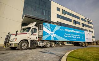 Subaru of America, Inc. kicks off 2019 Share the Love by hosting HQ event to help combat childhood hunger with Food Bank of South Jersey.