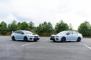 2019 WRX and WRX STI Series.Gray