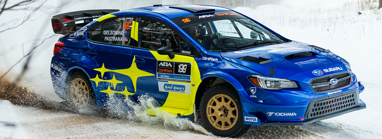 SUBARU TAKES 1-2 FINISH AT SNO*DRIFT TO OPEN 2021 RALLY SEASON<br />