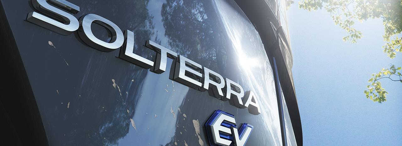 "SUBARU NAMES NEW ALL-ELECTRIC SUV ""SOLTERRA""<br />"