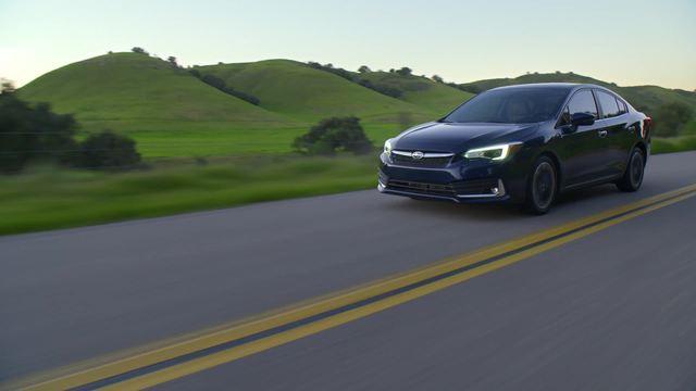 2020 Subaru Impreza Limited- Running Footage