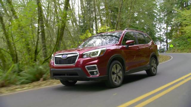 2020 Subaru Forester Limited- Running Footage