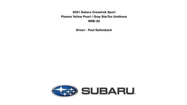 2021 Crosstrek Sport- snow driving footage.mp4