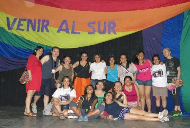 "II Encuentro Lesbitransinter Feminista de Latinoamerica y el Caribe ""Venir al Sur"""