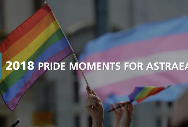 2018 #AstraeaPride Highlights