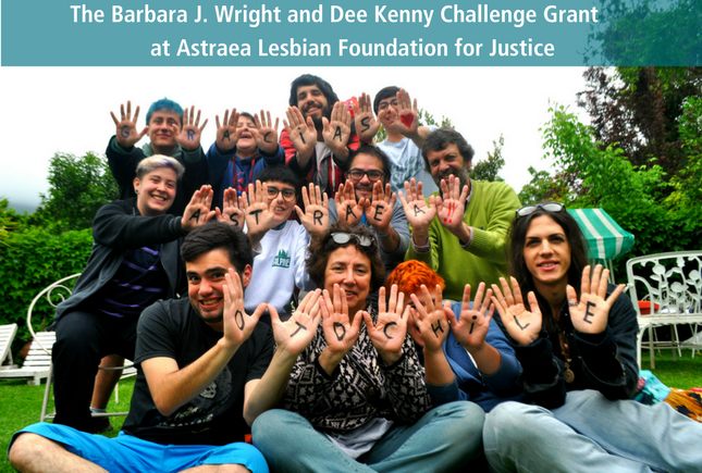 Barbara J. Wright and Dee Kenny Challenge Grant