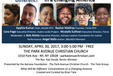 What Will Be Different: A Conversation on LGBTQ Activism in a Changing America