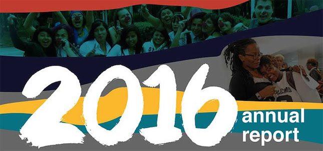 Announcing Astraea's 2016 Annual Report