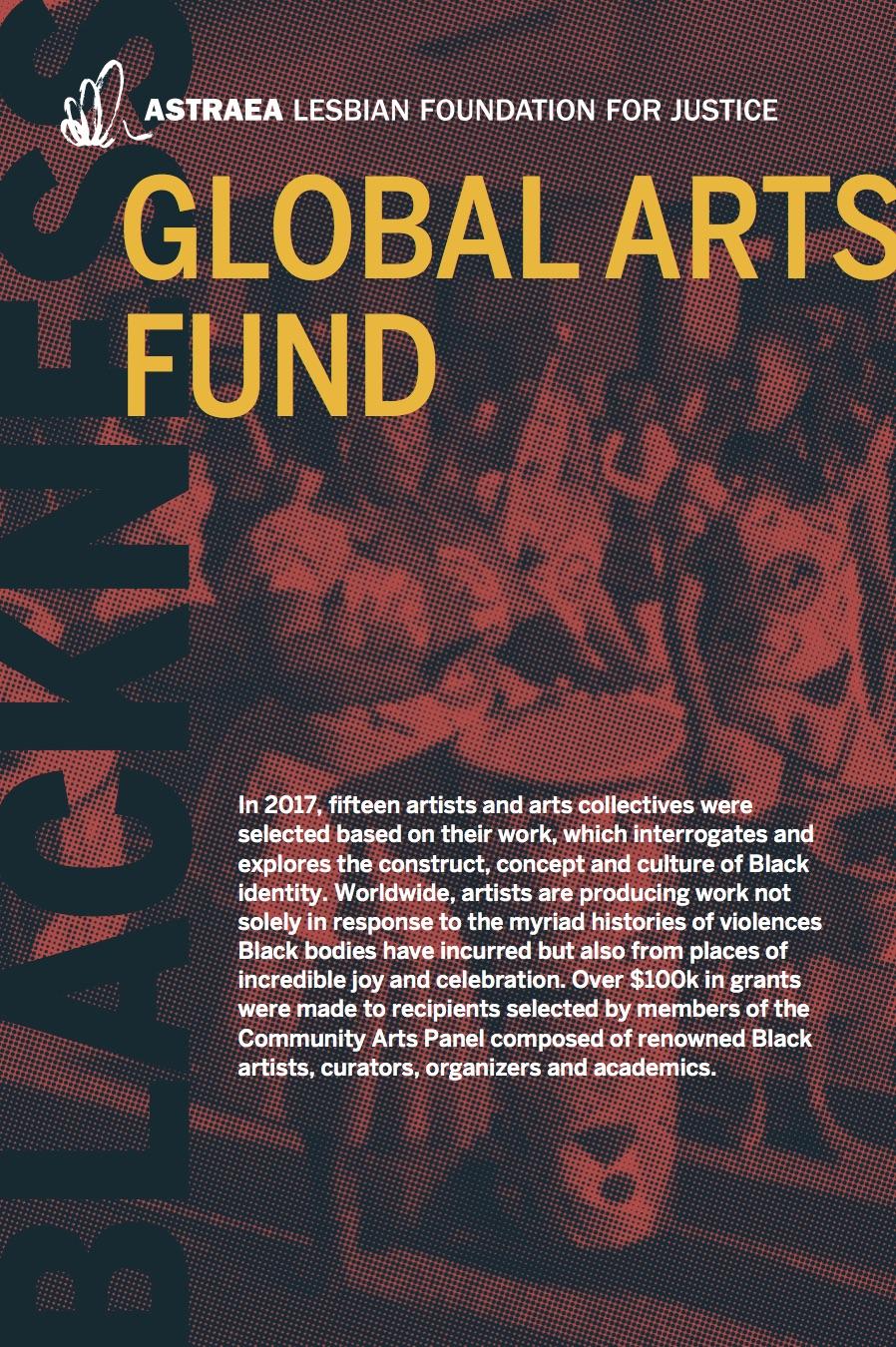 Global Arts Fund 2017 Brochure