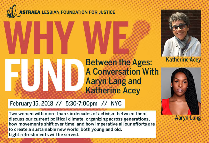 Between the Ages: A Conversation With Aaryn Lang and Katherine Acey