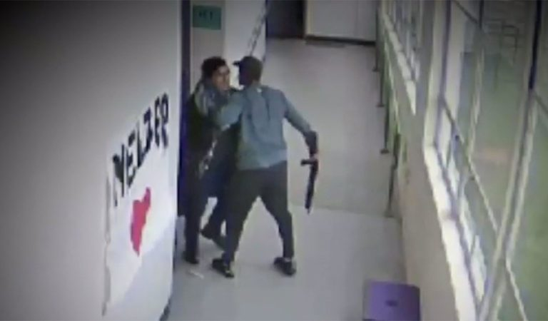 Video: Teacher Hugs And Calms The Student Who Walked Into School With A Gun