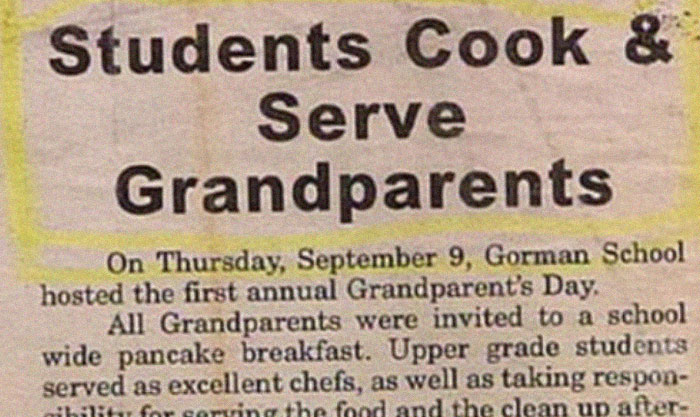 Dear Newspaper Editors, You Had Only One Job!