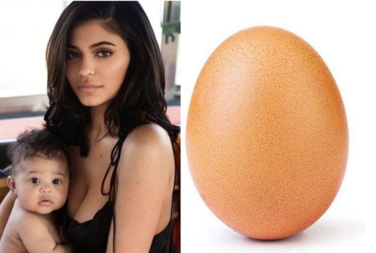 Kylie Jenner World Record Egg