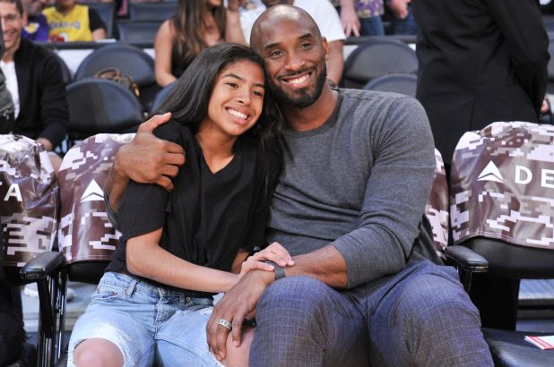 Kobe Bryant and Gianna