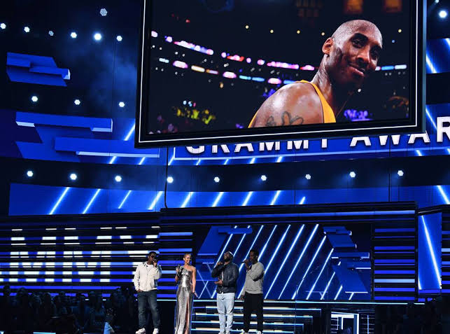 Grammy's tribute to Kobe Bryant