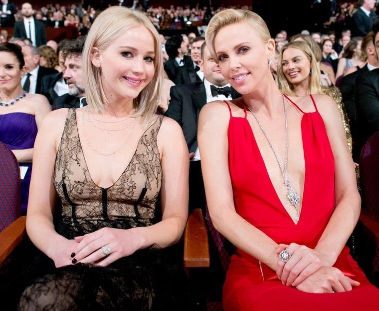 jennifer lawrence and charlize theron