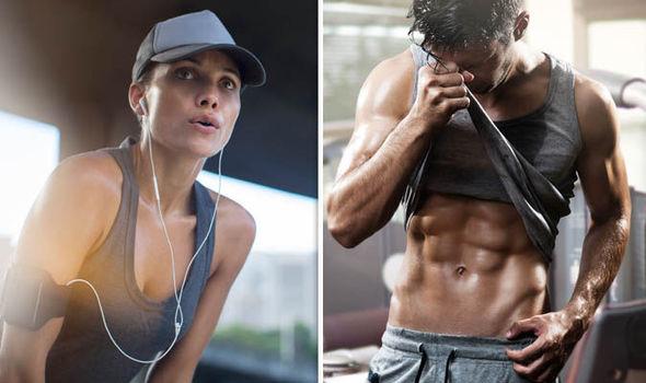 men vs women sweating