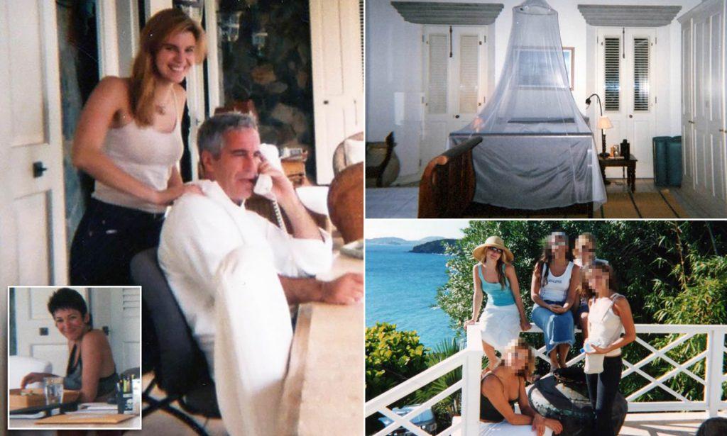 Epstein video with girls