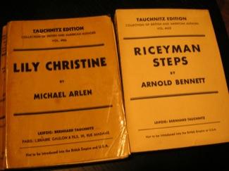 First ever paperbacks