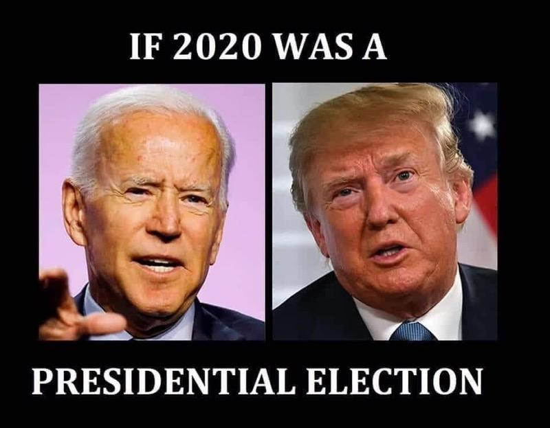 If 2020 was a presidential election