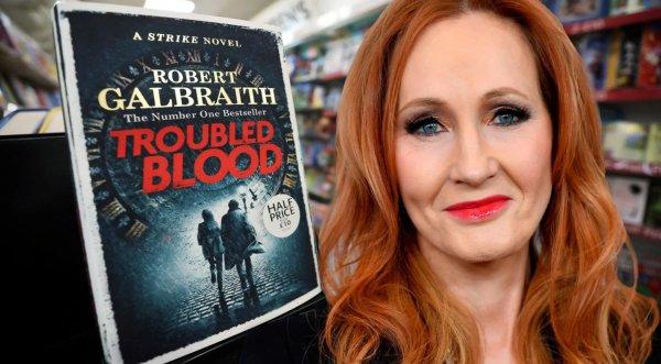 JK Rowling New Book