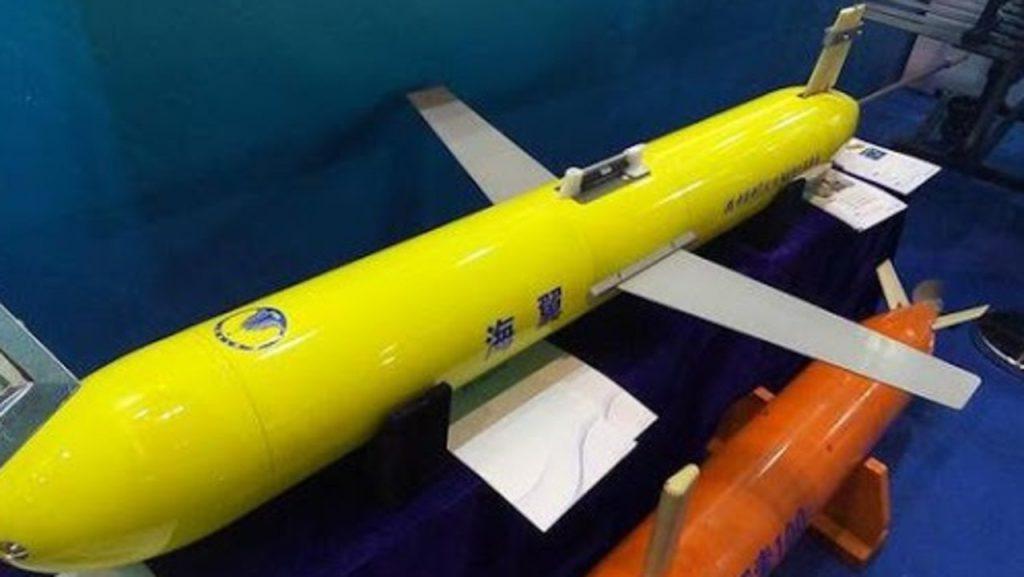 Chinese submarine sea wing uuv