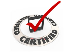 specialty certifications