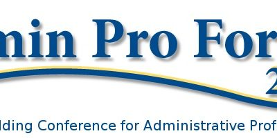 Join Julie Perrine at the 2017 Admin Pro Form in Orlando!
