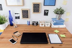 Note From Julie: Simple Ideas for Organizing Your Workspace